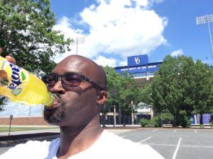 Selfie at Univ of Delaware