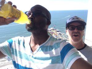 Dean and myself in Atlantic City