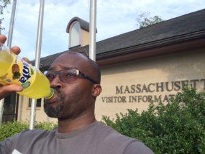 Selfie in Massachusetts